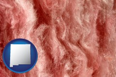 new-mexico a fiberglass insulation macro photo